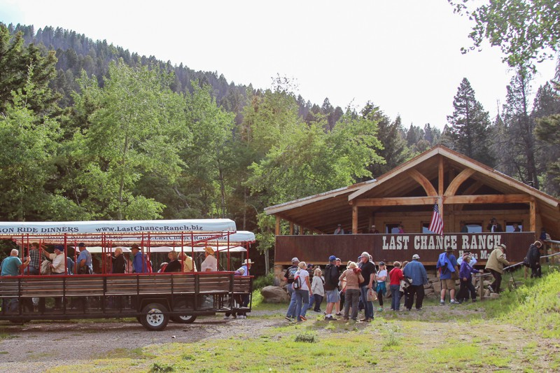 Last Chance Ranch Dinner House - time to grab some grub!