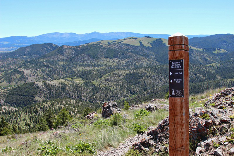 Great way to get outdoors, hike to the summit of Mount Helena in Montana