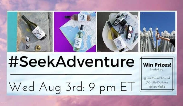 Come Fly Away! #SeekAdventure Twitter Party with Prizes Wed August 3rd