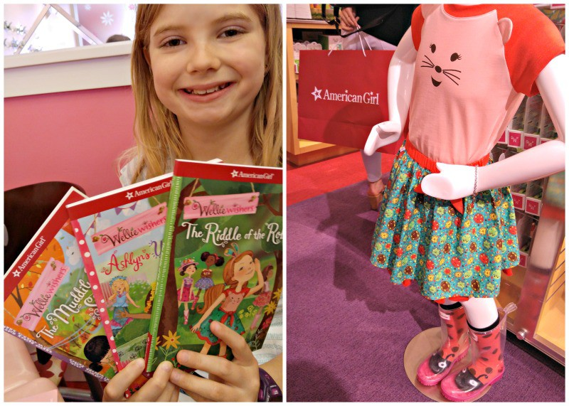 New American Girl WellieWishers books coming this fall + great outfits for girls to match their dolls!