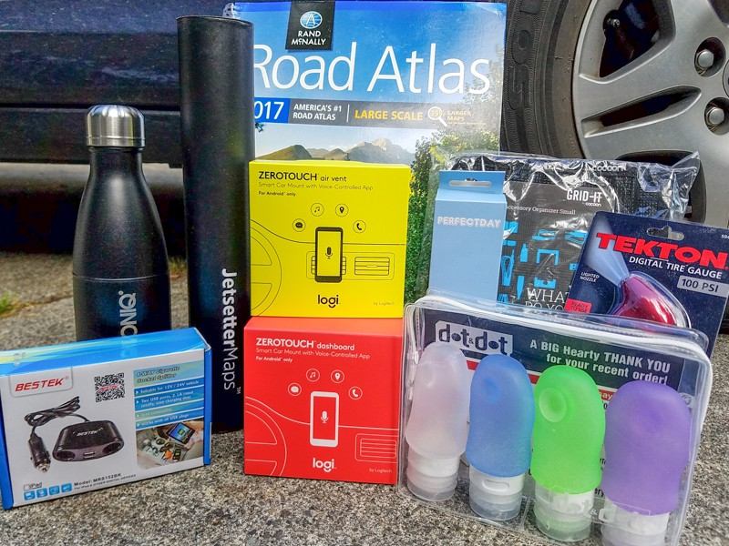Win this Logi ZeroTouch Road Trip Kit!