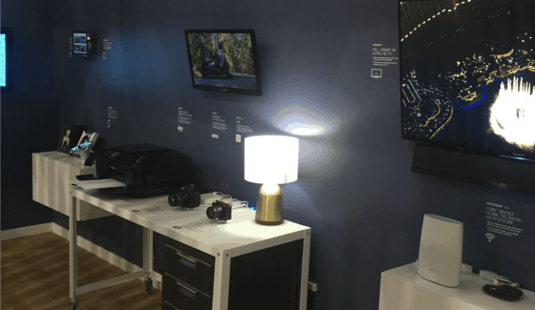 Tech Home Debuts at the Mall of America