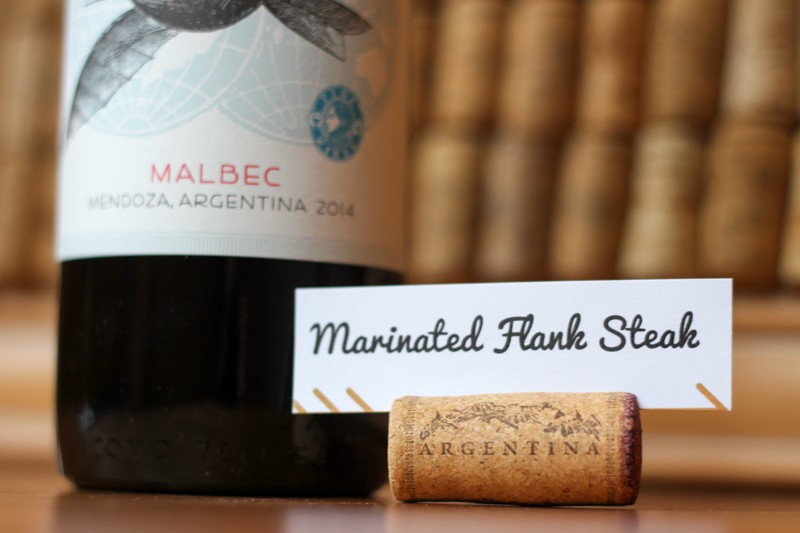Around The World Dinner Party Ideas Part - 15: Use Corks To Make Your Dinner Dish Labels