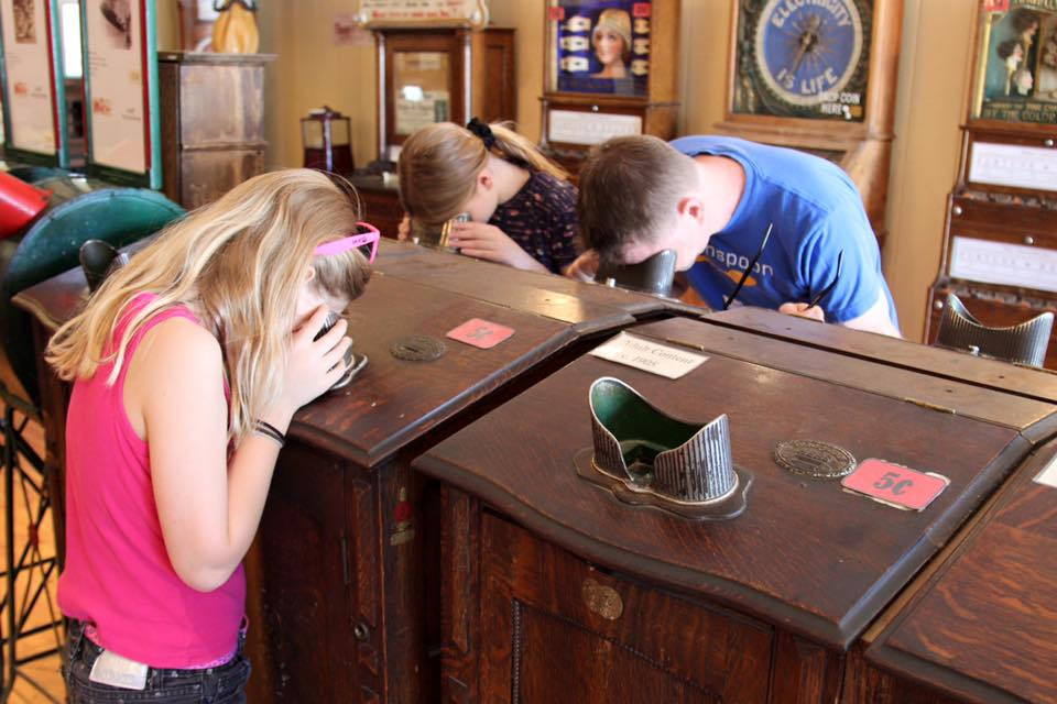 Visit the arcade in Virginia City, be sure to bring some nickels