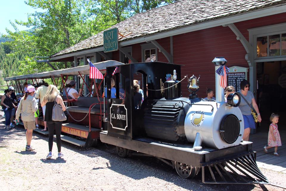 Another on our list for best of Virginia City is the Alder Gulch Train Ride