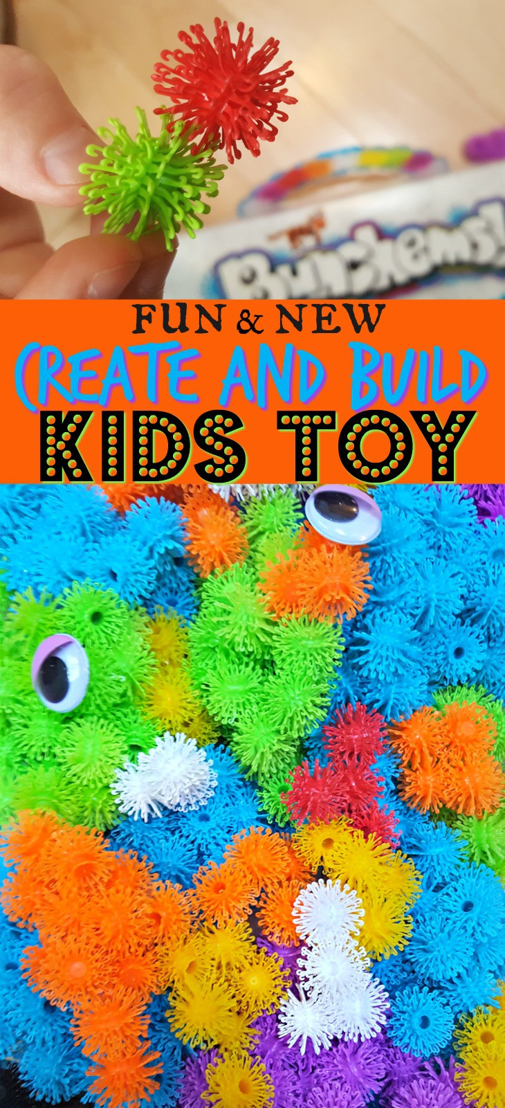 Need a great gift idea for a kids birthday or for Christmas? This new build and create toy is great for encouraging kids' imaginative play!