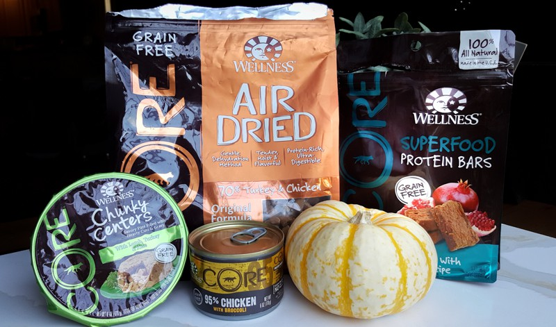 Delicious dog foods from Wellness CORE perfect for Thanksgiving!