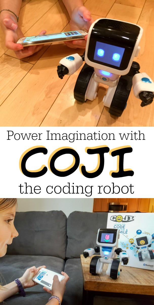 Your young kids can have fun and the basics to learn to code with the fun COJI robotic coding toy.
