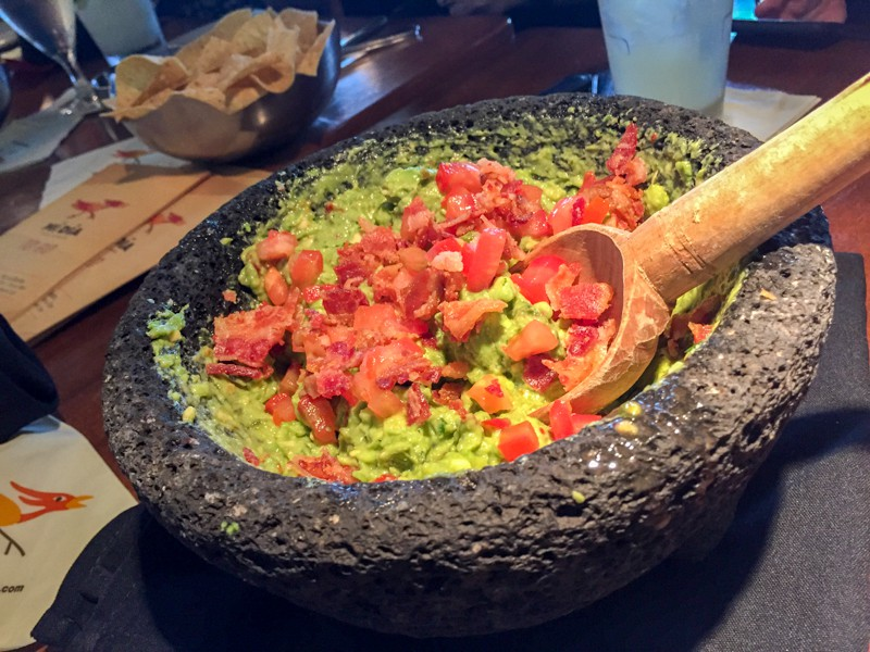 Table-side Guacamole at Mí Día is a must try!