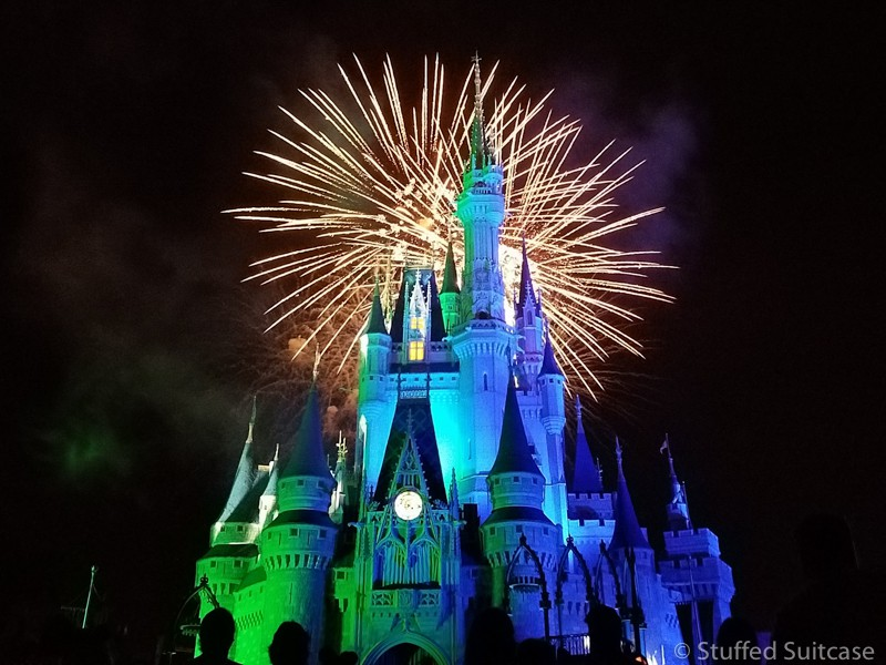 HalloWishes Halloween Fireworks at Walt Disney World | copyright Stuffed Suitcase