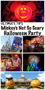 Tips for Mickey's Not So Scary Halloween Party at Walt Disney World to help you make the most of your visit. Including what shows to see, best viewing tips, and more!