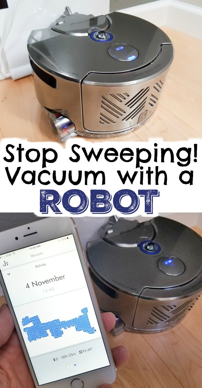 I'm in love with my new home tech gadget which means NO more sweeping chore, instead a robot does it for me now! Perfect family home hack to save time!