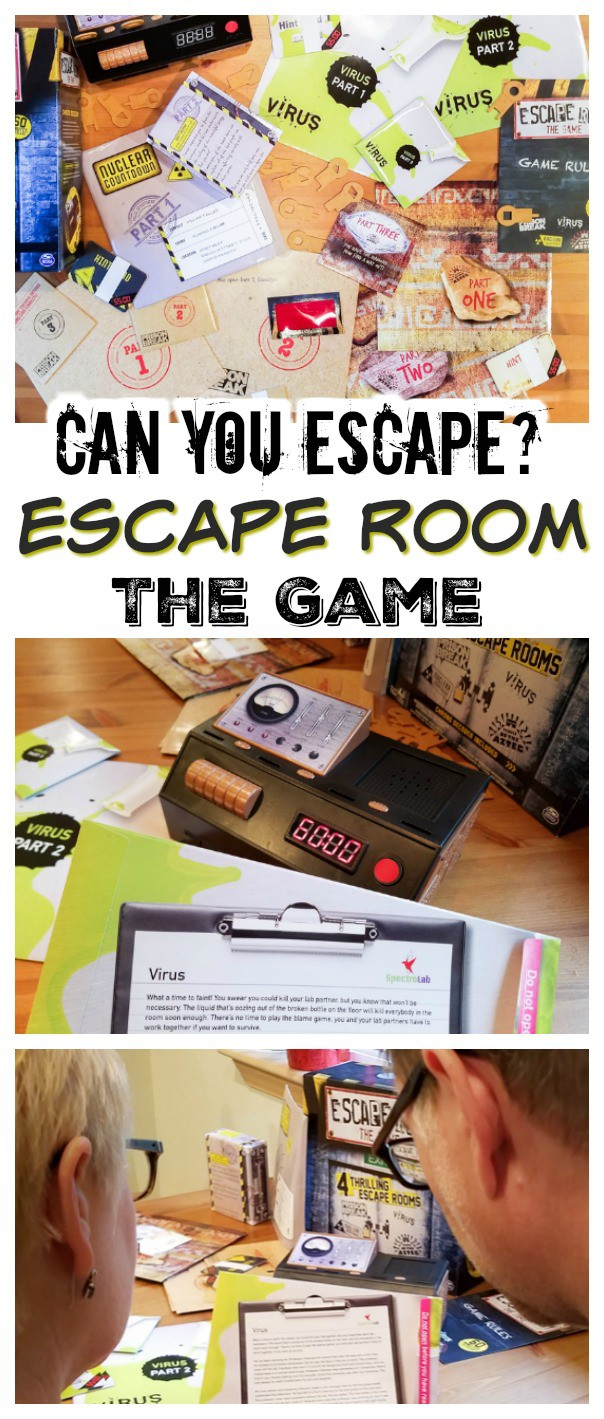 Looking for the perfect game for adult game night? Work your brains and have fun while solving clues and trying to escape in time! Perfect gift for teens and for the holidays