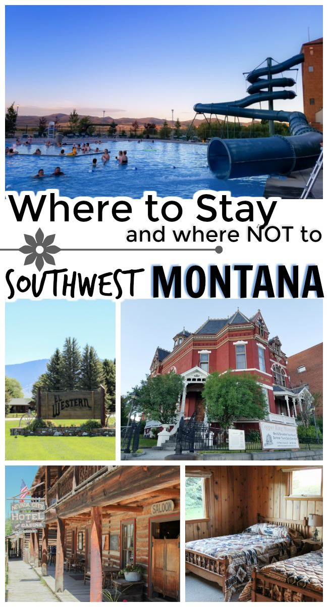 Planning a trip to southwest Montana? Or maybe you're passing through on your Yellowstone vacation. These are the hotels where I stayed, plus the one I recommend you avoid!