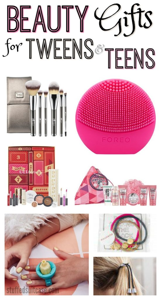Shopping for a tween or teen girl? Here are some great beauty gift ideas for the special girl in your life!