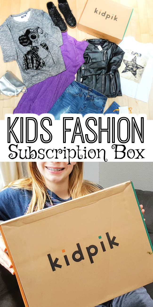Looking for a unique gift for girls? Here's a fun subscription box service for kids that delivers fashion to your door. Also great for those busy moms who can't find time to go shopping with their daughters!