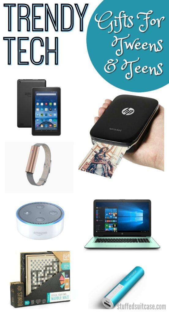 teen gifts for girls featuring fun and trendy tech gifts beauty gifts and quirky