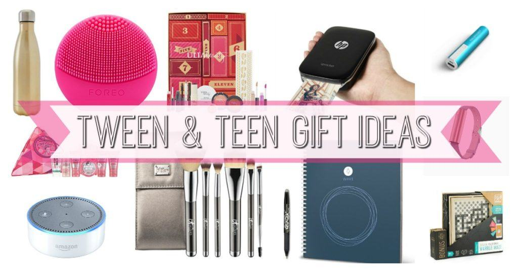 Tween and Teen Christmas List Gift Ideas