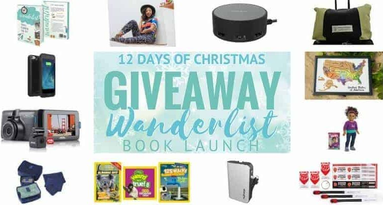 12 Days of Christmas Giveaway  – Wanderlist Book Launch