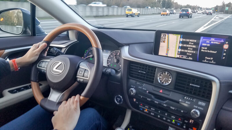 Driving the 2016 Lexus RX 450h