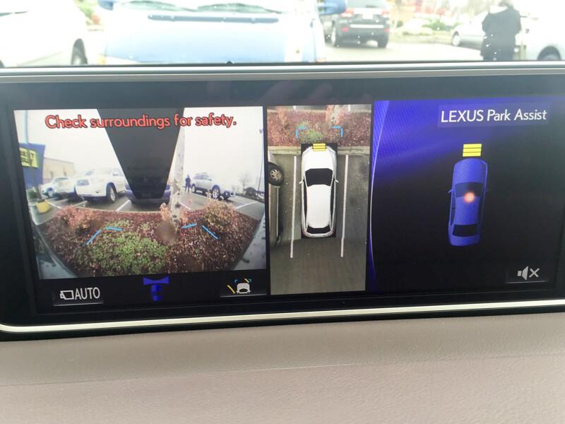 Park Assist in the Lexus RX 450h