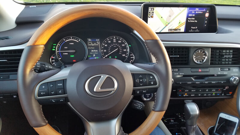 Matte Bamboo interior option in 2016 Lexus RX 450h