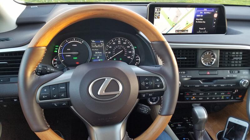 Matte Bamboo interior option in 2016 Lexus RX 450h