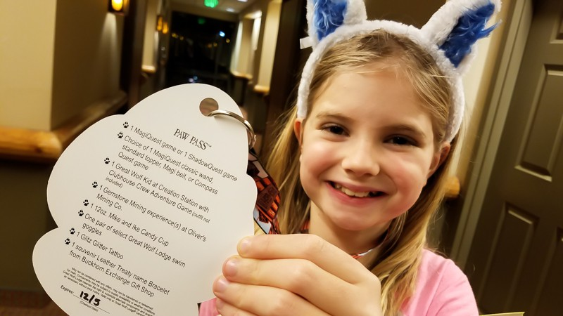 Paw Pass savings at Great Wolf Lodge