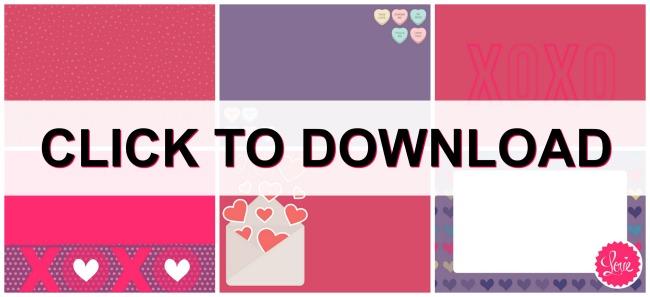 Blank Clue Cards for Valentines Scavenger Hunt