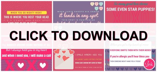 Valentines Scavenger Hunt | Valentines Day | treasure hunt | valentines gift ideas | valentine printable