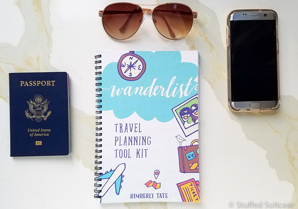 Wanderlist Travel Planning Tips Workbook © Stuffed Suitcase