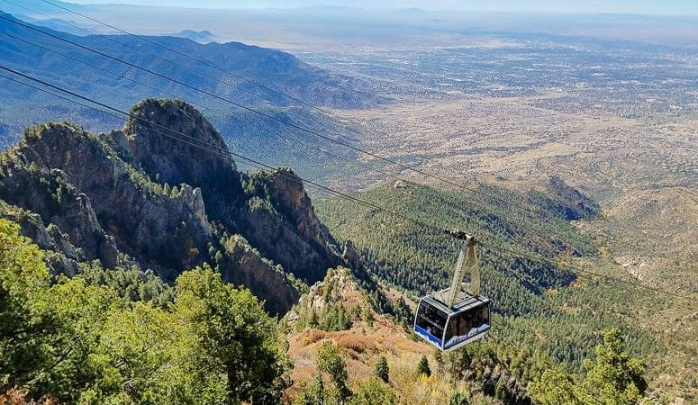 things to do in albuquerque - Sandia Peak Tramway