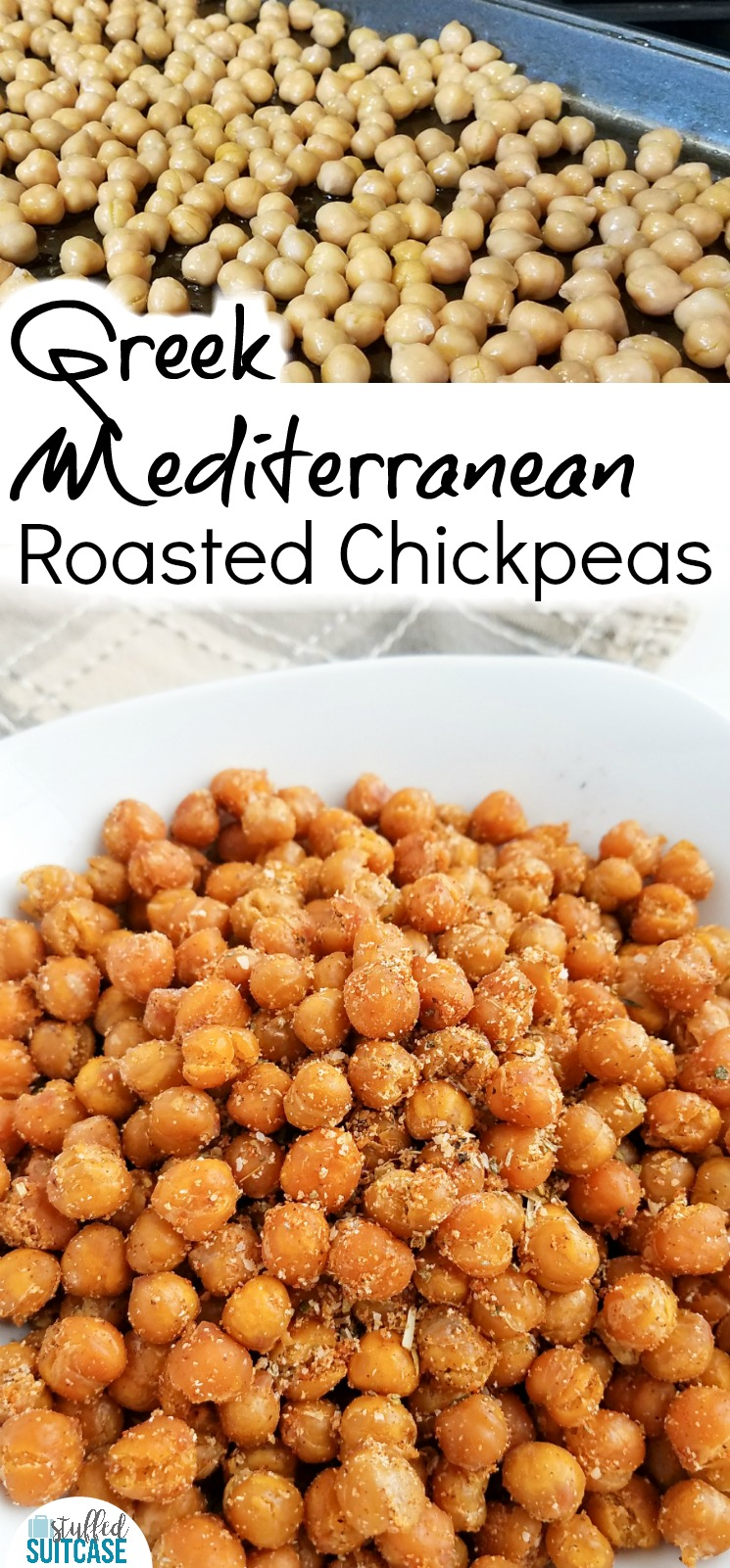 Great snack ideas - roasted chickpeas recipe | snacks for kids | travel snacks | roasted garbanzo beans