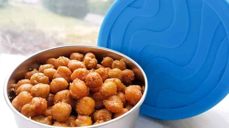 Roasted Chickpeas – The Perfect Travel Snack!