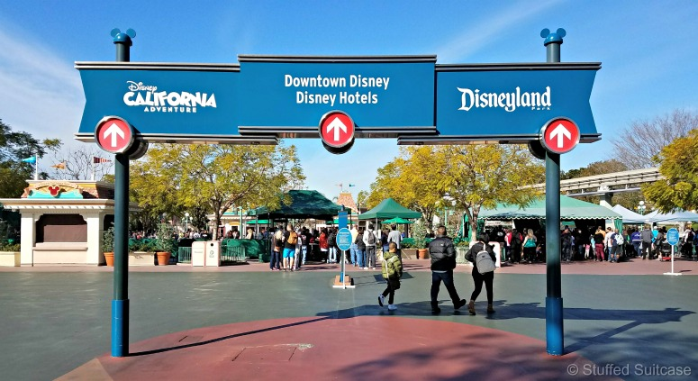 One of my best Disneyland tips is to allow extra time for security and park entry! | © Stuffed Suitcase