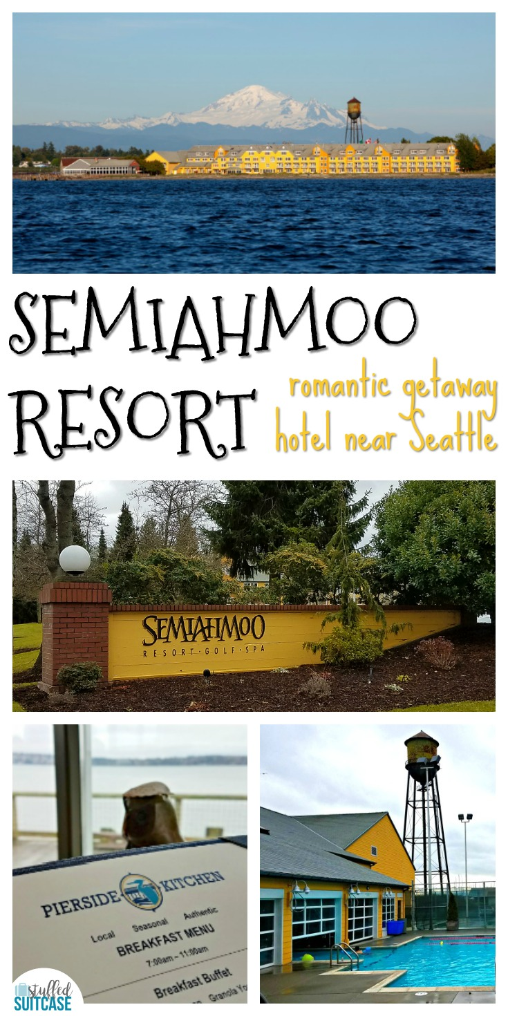 The Semiahmoo Resort in Washington near the Canadian border is the perfect spot for a romantic couples getaway from Seattle