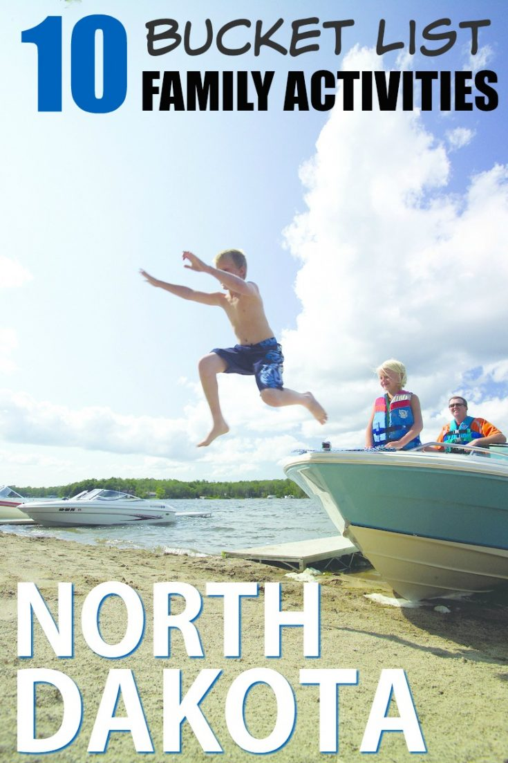 10 bucket list family activities to do in North Dakota | travel | family travel photo credit Jason Lindsey for North Dakota Tourism