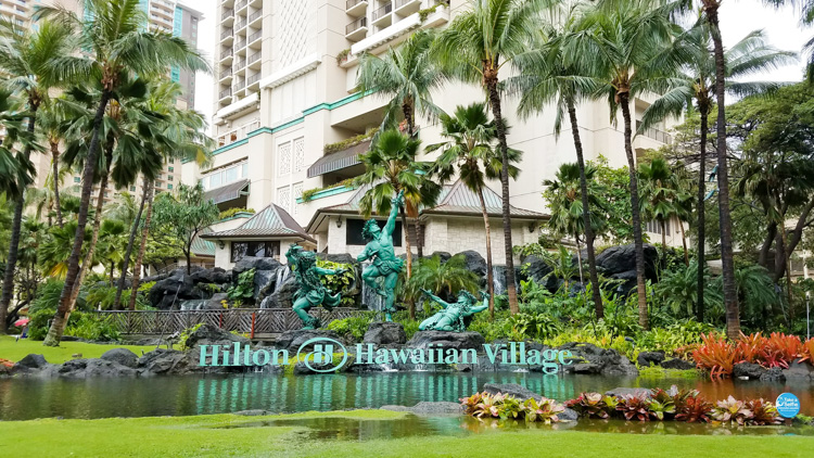 Hilton Hawaiian Village is situated on Waikiki Beach and has a great lagoon for snorkeling plus other great things to do in Oahu
