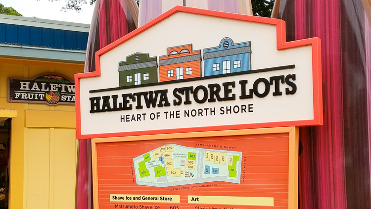 Hale'Iwa in the North Shore is must do both for shaved ice and shopping