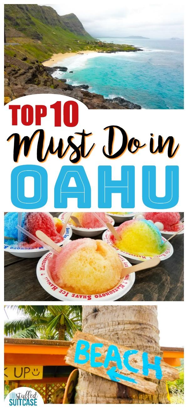 Great list of travel must do Oahu Hawaii activities - fun things to do to help you plan today | Hawaii | top 10 | Oahu Hawaii