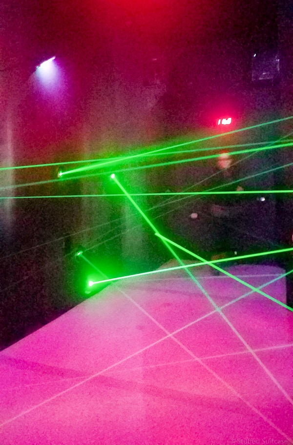 lazer challenge in cannery row