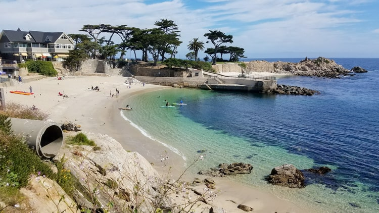 lovers beach pacific grove ca