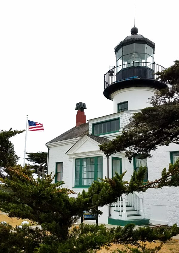point pinos lighthouse in pacific grove ca