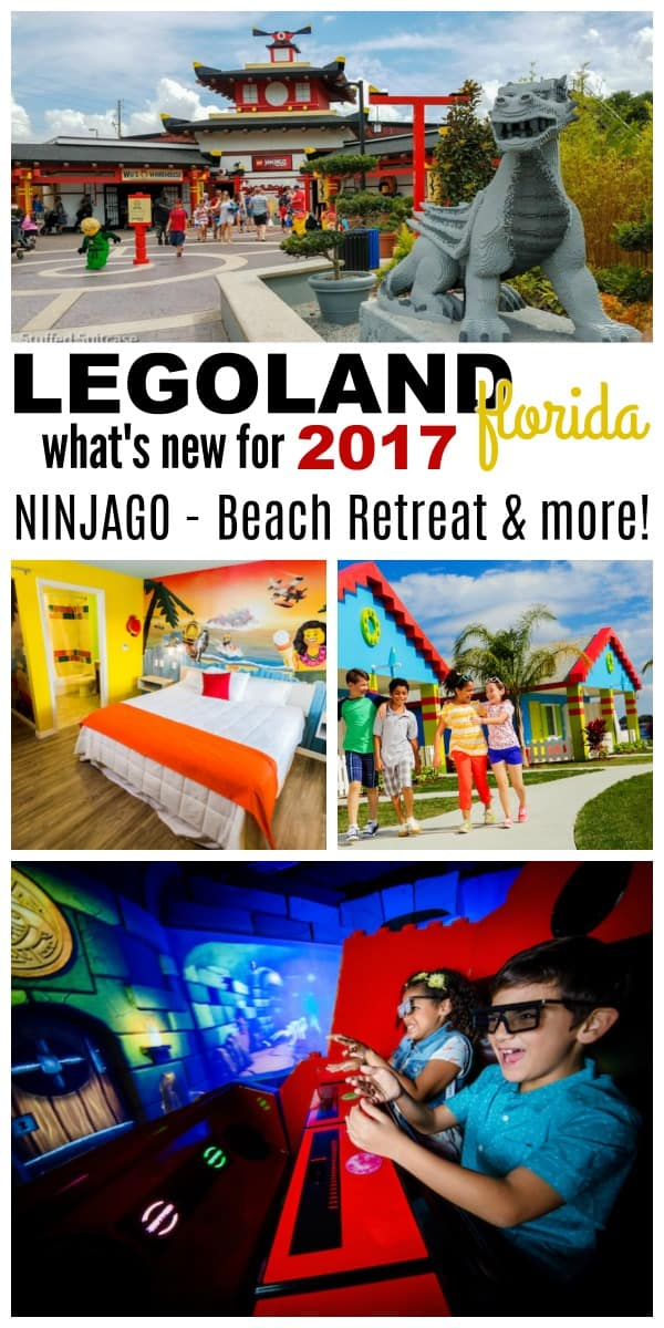 Planning a trip to LEGOLAND Florida in 2017? Don't miss these travel tips about what's new and must do! theme park FL