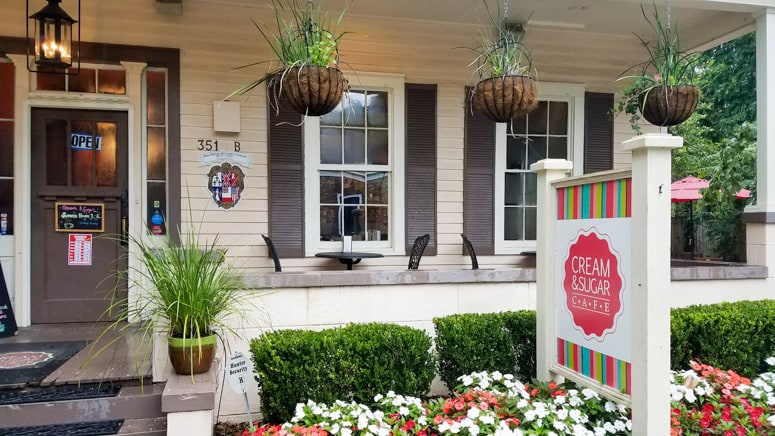 where to eat in mobile, alabama gulf shore - cream and sugar cafe