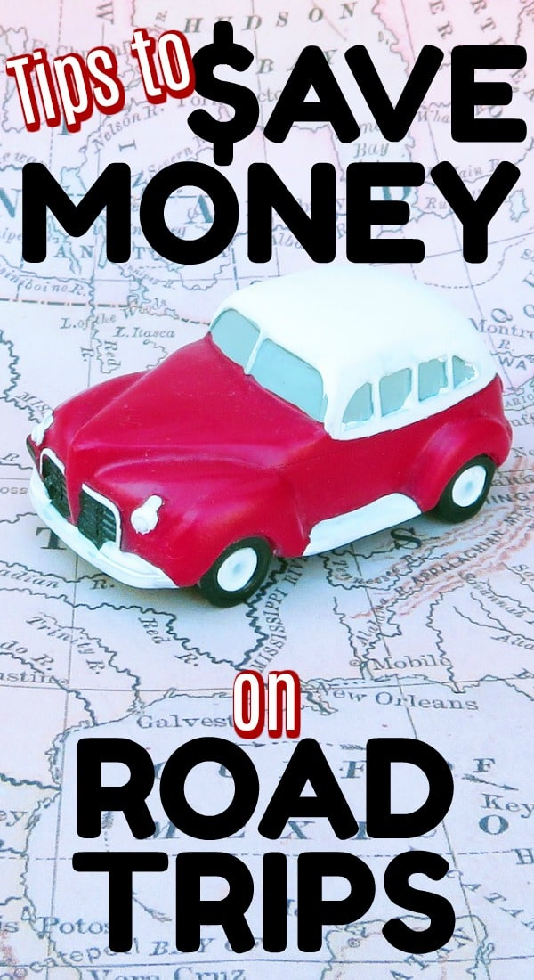 Road trip tips for how to save money on a road trip - great ideas!