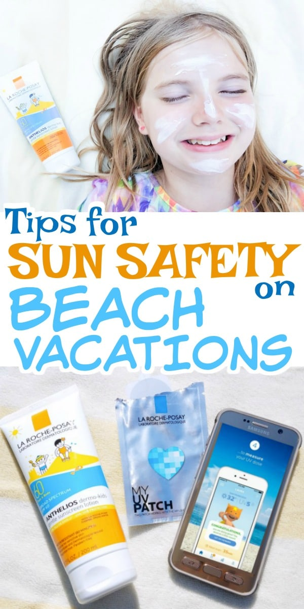 Don't forget sun safety when you pack for a beach vacation - my tips for sun safety with kids