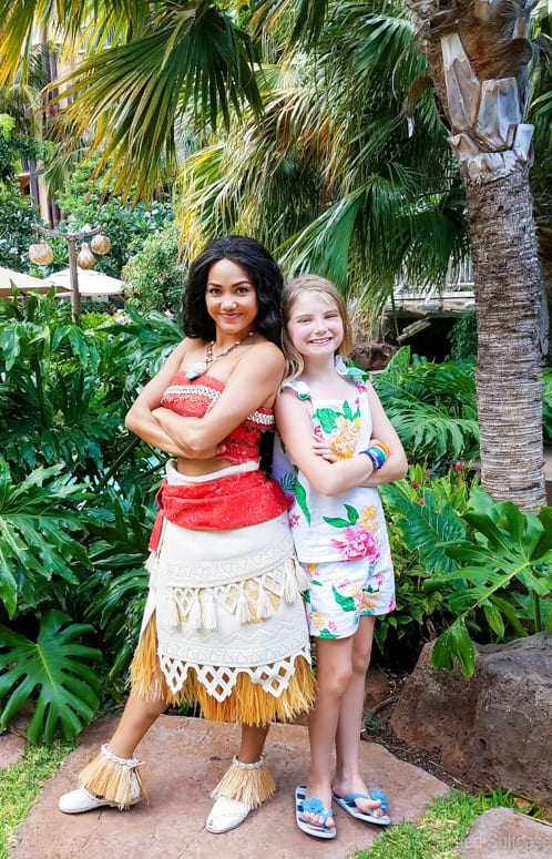 meeting moana at disney aulani