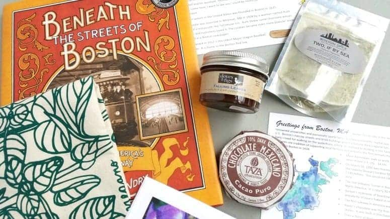 Great Gift Idea for Travelers Explore Local Box Travel Treats