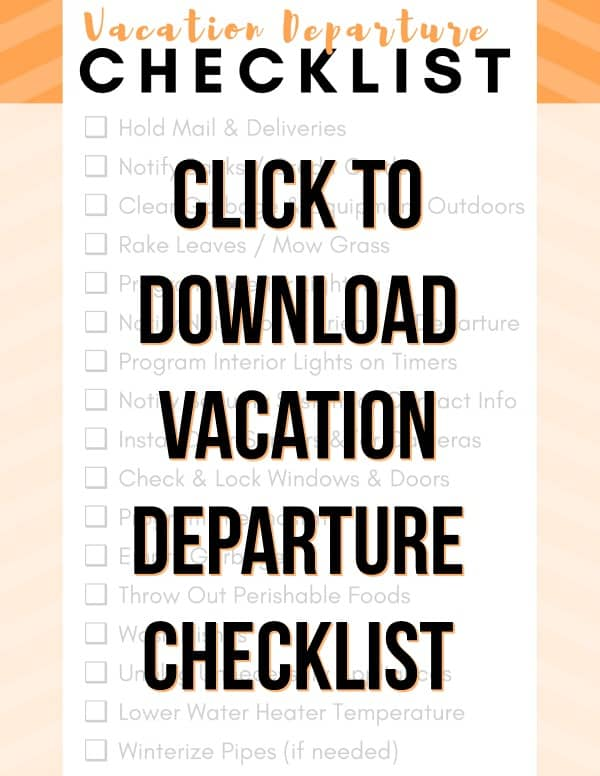 checklist 17 useful things to do at home before traveling free